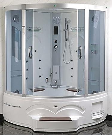 Cabina ducha con columna hidromasaje