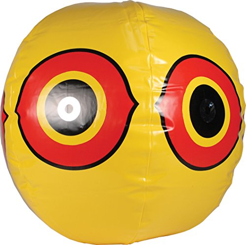 Bird Scaring Balloon (Bird-X Scare-Eye Bird Repellent Predator Eyes Balloon, Yellow)