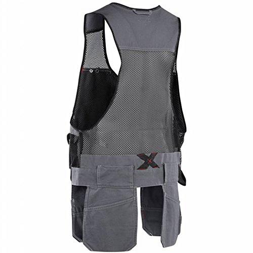Blaklader 310013709499XXXL Vest ''Craftman'' Size In XXXL, Grey/Black