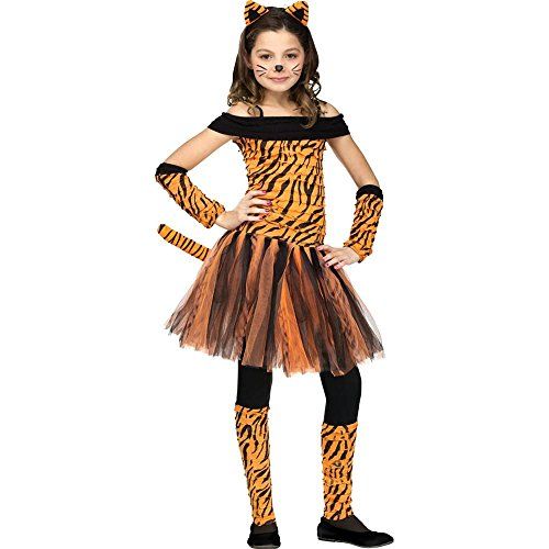 Fun World Tigress Kids Costume