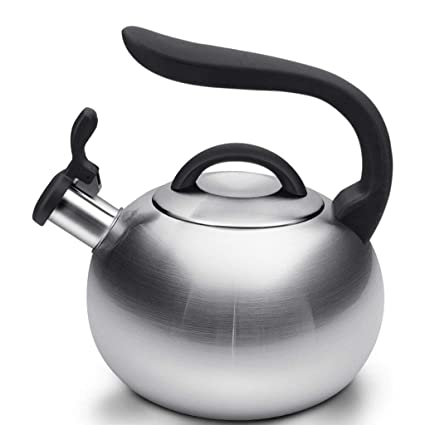 Kettles & Hot Water Dispensers Electric Kettles XSSD Kettle 304 Stainless Steel Kitchen Induction Cooker Gas Universal Automatic Whistle 3L