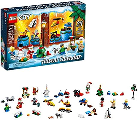 lego city christmas advent calendar