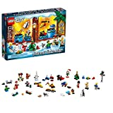 LEGO City Advent Calendar 60201, New 2018 Edition, Minifigures, Small Building Toys, Christmas Countdown Calendar for Kids (313 Pieces)