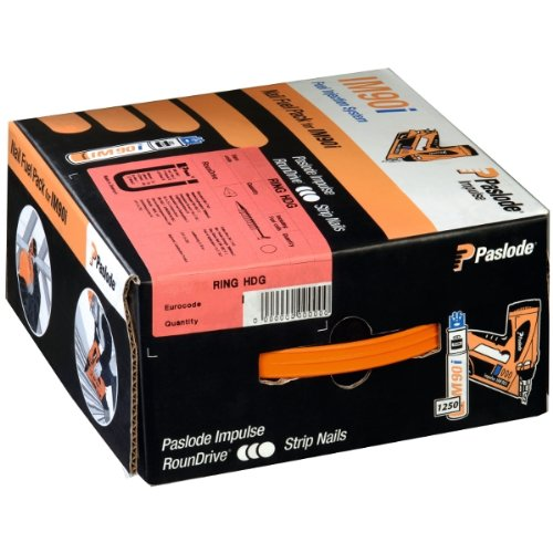 Paslode Impulse Packs - galvanisiert plus (glatt) - Ø 3, 1 x 80 mm Paslode Impulse-Pack IM90i/Ci