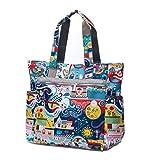 Nylon Large Lightweight Tote Bag Shoulder Bag for