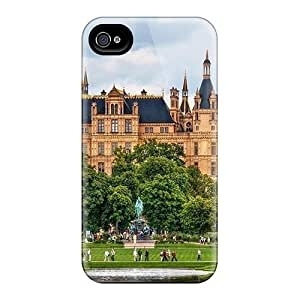 High Grade Flexible PC Case Cover For HTC One M9 Majestic Schwerin Castle In Germany Hdr