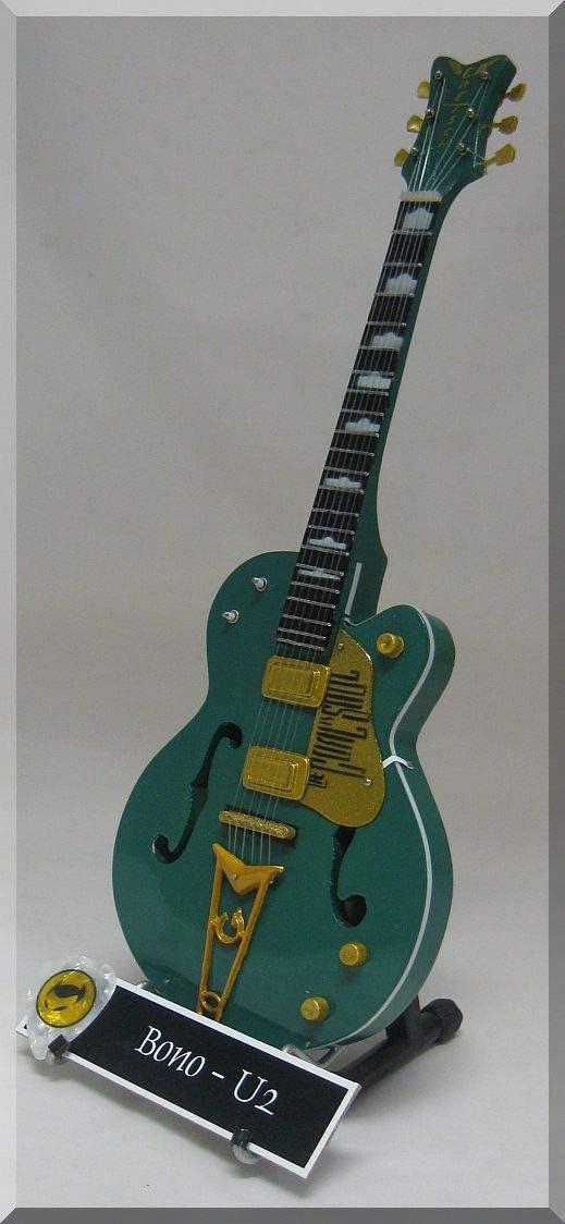Bono en miniatura Mini guitarra Gretsch de U2 el objetivo es alma ...