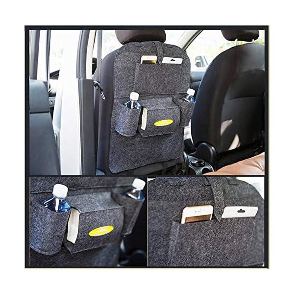 51nvJoNmtRL Autositz Organizer Leder, Autositzorganizer, Autositz Organizer, Rückenlehnenschutz Auto, Auto rückenlehnenschutz kinde…