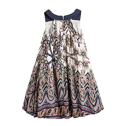 childdkivy-Baby-Girls-Summer-Dress-Bohemian-Fashion-Clothes