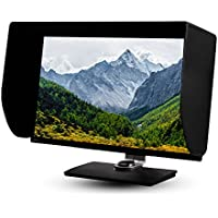iLooker-32P 31&32 inch Pro Edition LCD LED Video Monitor Hood Sunshade Sunhood for Dell HP Viewsonic Philips Samsung LG EIZO NEC ASUS ACER BENQ AOC LENOVO, Fits Monitor Frame Width 725-745mm