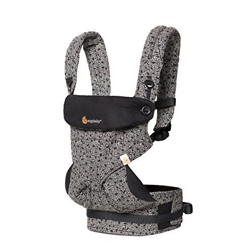 Ergobaby 360 All Carry Positions Award Winning Ergonomic Baby Carrier Limited Keith Haring, Black