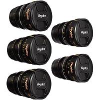 Veydra V1-5LENSKITCASEI Mini Prime 5 Lens Kit with 6 Lens Case with Manual Focus, Black