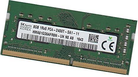Hynix Memoria RAM Non-ECC Unbuffered DDR4 16GB 2Rx8 2400MHz PC4 ...