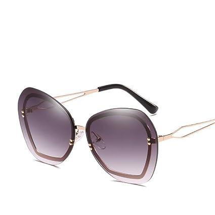 BiuTeFang Gafas de Sol Mujer Hombre Polarizadas Europa y la marea de Estados Unidos marca gafas