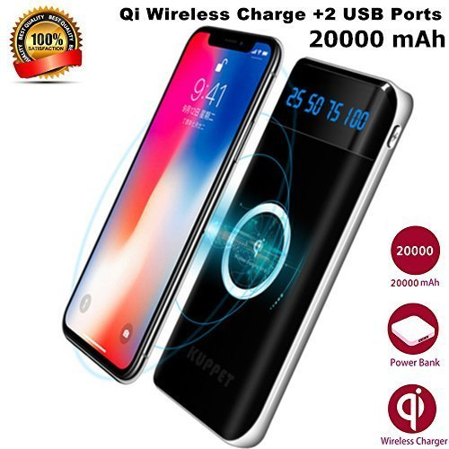 9. KAPPET External Travel Wireless Battery Charger Pack for Galaxy S10+