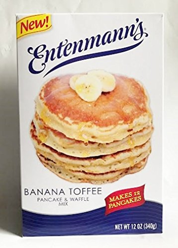 (Entenmanns Banana Toffee Pancake & Waffle Mix - Makes 12 Pancakes 12 oz.)