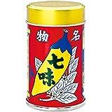 八幡屋礒五郎 七味唐辛子 缶 14g