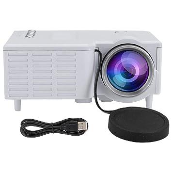 ASHATA Proyector de TV HD, proyector portátil en Miniatura ...