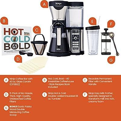 Ninja-Coffee-Bar-Brewer-with-Carafe-and-Bonus-Exotic-Pakka-Wood-Coffee-Scoop