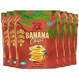 Banana Joe Chips | High Vitamin Absorption | Thai Sweet Chili | Prebiotic + Probiotic | Gluten Free | Multipack, 6-Pack