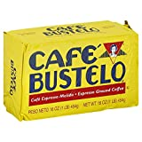 Cafe Bustelo Espresso Brick Coffee, 16 Ounce (Pack of 12)