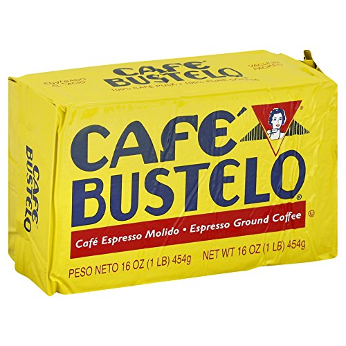 Cafe Bustelo Espresso Brick Coffee, 16 Ounce (Pack of 12) by Café Bustelo