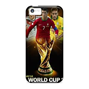 High-quality Durability Cases For Iphone 5c(fifa World Cup Brazil 2014)
