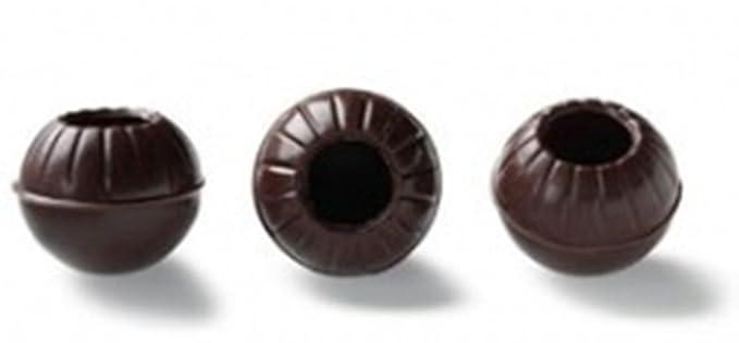 Callebaut Truffle Shells - Conchas / Bolas Huecas Trufas de Chocolate Negro (126 piezas)