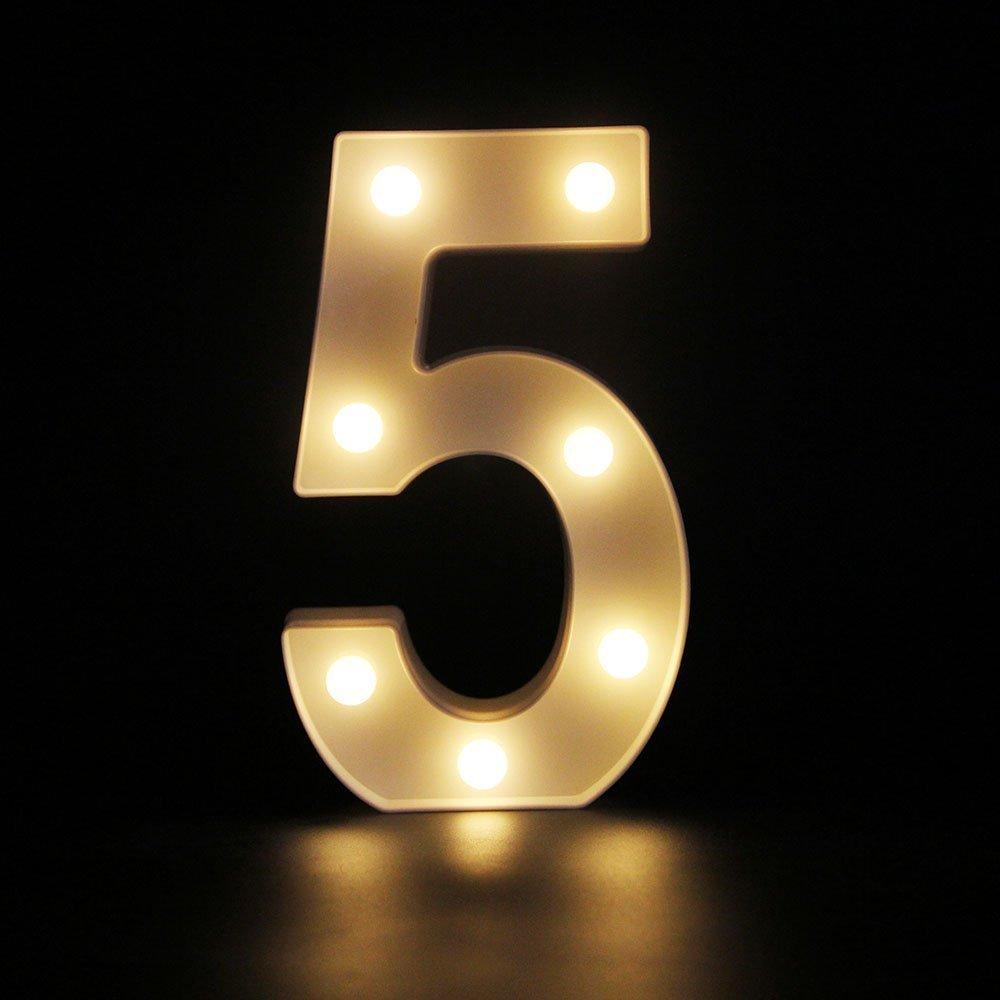 HiveNets LED Decorativos Iluminar Letras del Alfabeto para Cumplea/ños Fiesta de bodas Bar Dormitorio Colgante de Pared R