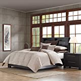 Metropolitan Home Eclipse Mini Comforter Set, King, Taupe