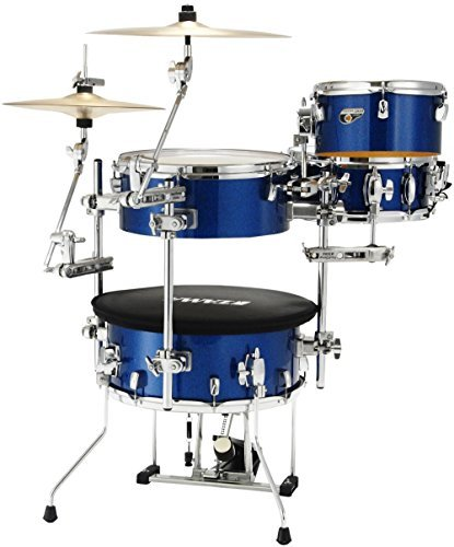 Tama Cocktail-JAM 4-Piece Shell Pack with Hardware Indigo Sparkle ()