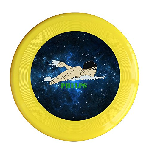 Kim Lennon Flying Fish Custom Recreation Plastic Flying Disc Colors And Styles Vary Yellow Size One Size (Chicken Croc)