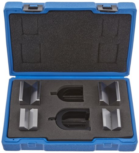 Fowler Full Warranty 52-475-500-0 Hardened Steel X-Blox V-Block Set, 1.5