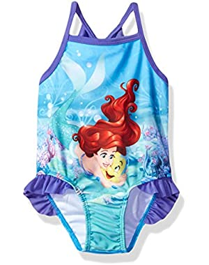 Baby Little Girls' Ariel Infant Swimsuit