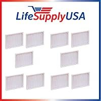 10 Pack Replacement Filter to fit Hunter 30920 30905 30050 30055 30065 37065 30075 30080 30177 by LifeSupplyUSA
