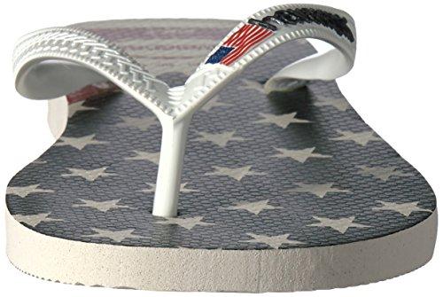 7902efe38 Havaianas Men s Top USA Flag White Flip Flop  Amazon.co.uk  Shoes   Bags