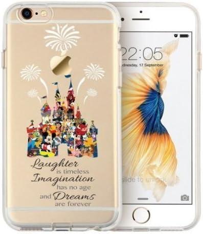 iPhone 6/ 6s/ 6 Plus/ 6s Plus, [Clear Case] Disney Cartoon ...