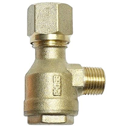 Válvula Antirretorno 1/4 – 10 mm Válvula Impresión línea Compresor De Aire Comprimido