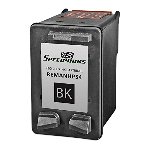 Speedy Inks - Remanufactured Replacement for HP 54 CB334AN High-Yield Black Ink Cartridge for Deskjet F4135, Deskjet F4140, Deskjet F4150, , Deskjet F4172, Deskjet F4180, Deskjet F4185, FAX (3180 Fax)