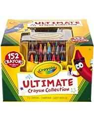 美亚:Crayola彩色蜡笔终极Ultimate套装,152种颜色,现仅售$12.99