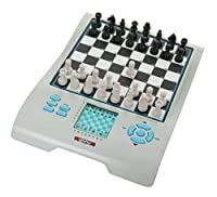 Millennium Karpov Schachschule (Chess School) - English Talking Speaking Voice Electronic Chess Checkers Computer