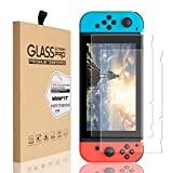 VANFIT Nintendo Switch Screen Protector, HD Ultra-thin Tempered Glass Screen Protector for Nintendo Switch 2017 - 2PCS