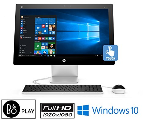 """UPC 636156044331, HP Pavilion 23-q119, 23"""" FHD Touchscreen, Core i5, 12GB, 2TB, Win 10 All-in-One (Certified Refurbished)"""