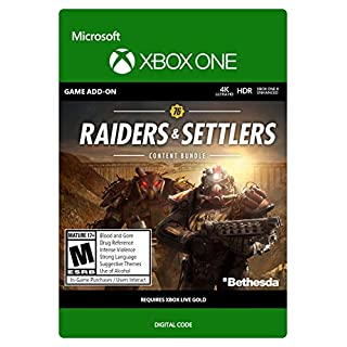 Fallout 76 Raiders & Settlers Content Bundle - Xbox One [Digital Code]