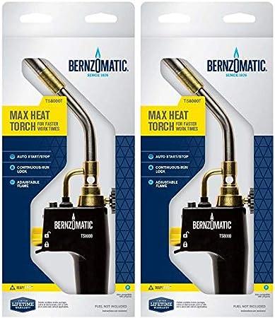 High Intensity Trigger Start Torch 2 Pack Bernzomatic TS8000