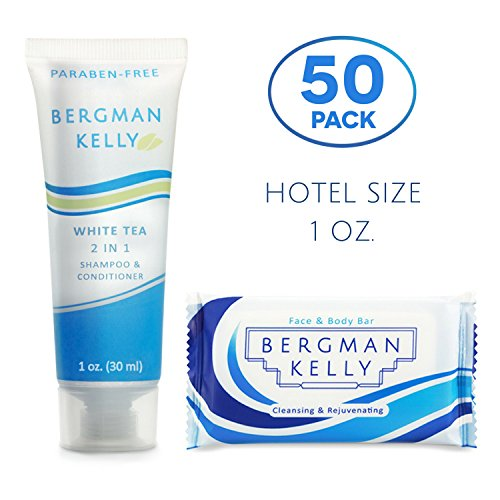 BERGMAN KELLY Soap Bars, 2in1 Shampoo and Conditioner 2-Piec