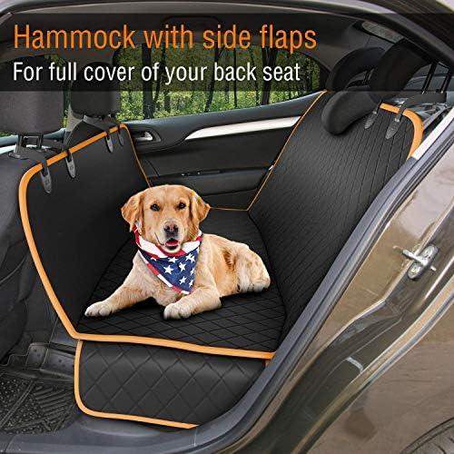Cubierta protectora de asiento de coche contra mascotas 3