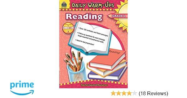 Amazon com: Daily Warm-Ups: Reading, Grade 1: Reading, Grade