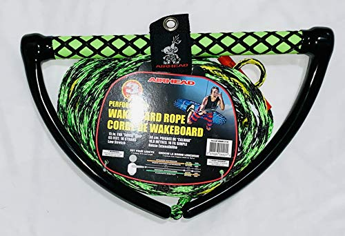Kwik Tek Airhead Watersports Wakeboard Rope, 15 in. Eva