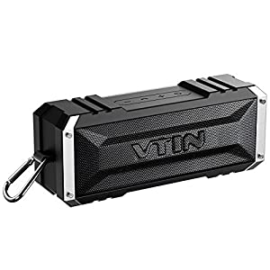 Vtin-20-Watt-Waterproof-Inpermeable-Bluetooth-Inalmbrico-AltavozBocina-Radiador-Pasivo-Conexin-AUX-Largo-Tiempo-de-Reproduccin-hasta-25-Horas-portable-para-iPhone-Playa-Piscina-HuaWei-XiaoMi-etc-color